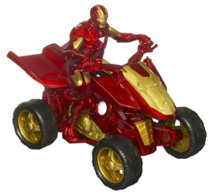 Iron Man 2 figurina Iron Racers