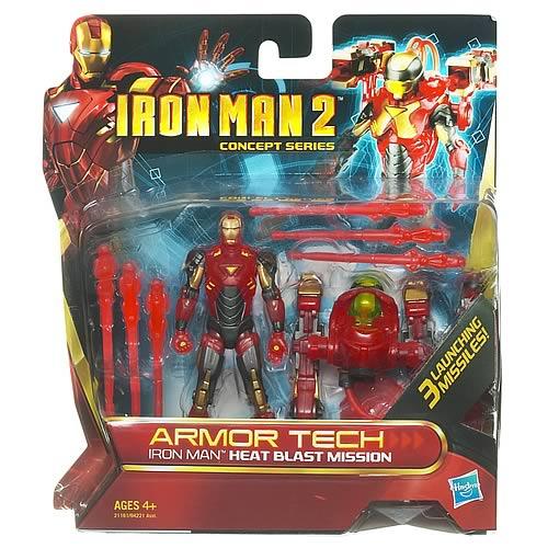 Iron Man 2 figurina De Luxe Armor Tech
