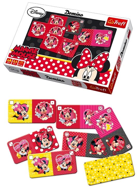 Set joc domino+carti de joc Minnie