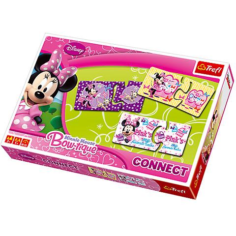 Set joc connect+carti de joc Minnie
