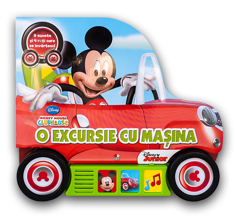 MICKEY MOUSE. O EXCURSIE CU...