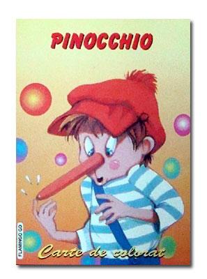 PINOCCHIO CARTE DE COLORAT