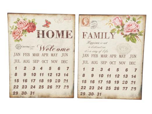 Calendar metalic April