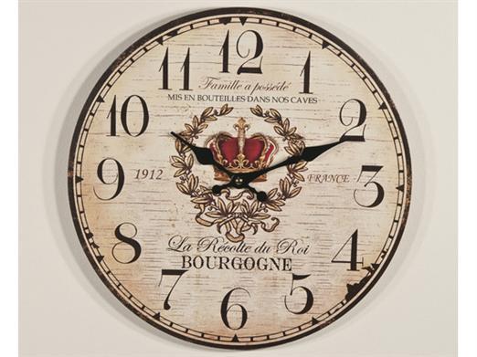 Ceas 34x34cm Bourgogne