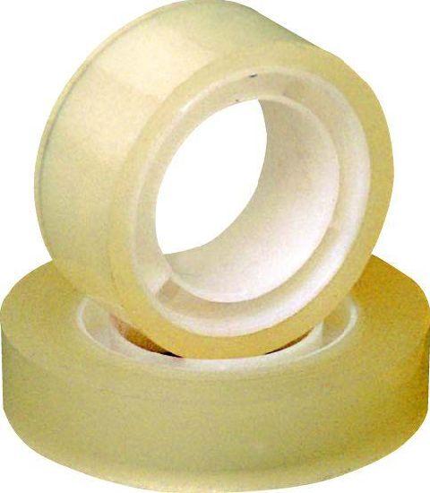 Banda adeziva,transparenta,12mmx30m