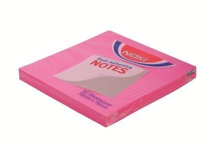 Notite adezive Noki76x76mm,roz,100f