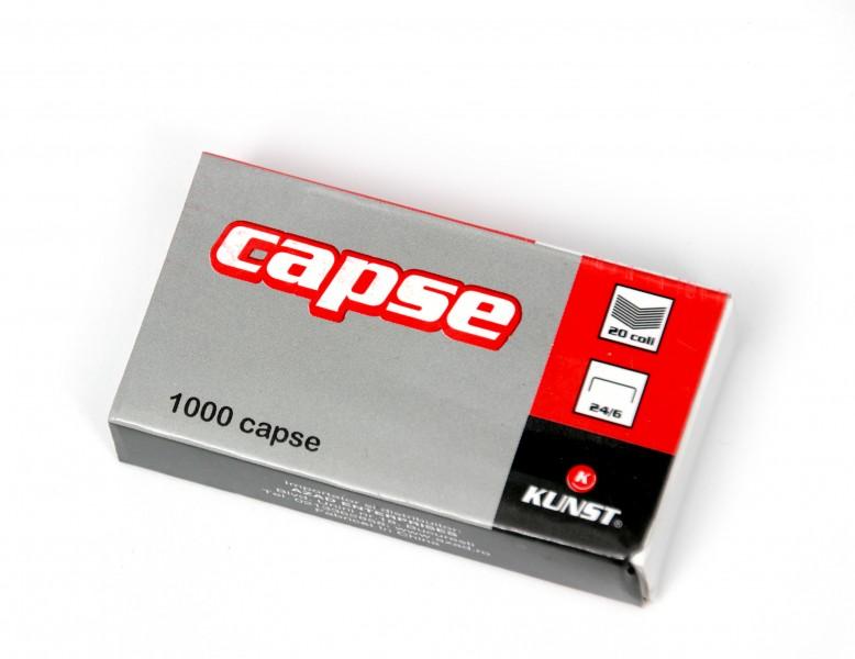 Capse Kunst,24/6,1000buc/cutie