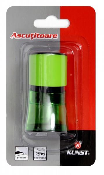 Ascutitoare Kunst,cu container,plastic