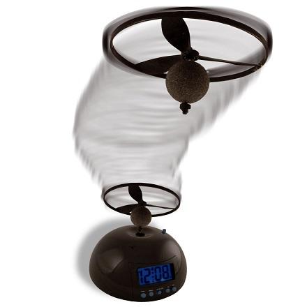 Ceas desteptator cu obiect zburator