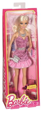 Papusa Barbie Fashionistas petrecere glamuroasa