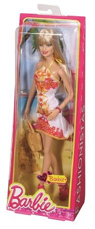 Papusa Barbie Fashionistas petrecere tropicala