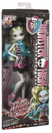 Papusa Monster High covorul negru