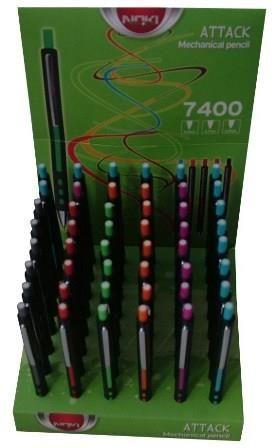 Creion mecanic Noki Attack,0.7mm,roz