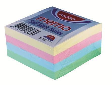 Cub notite adez.Noki,76x76,pastel,400f