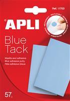Pastile dublu adezive Apli,57g,albastre