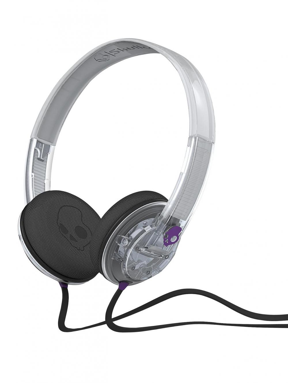 Casti Skullcandy Uprock Clear/Purple