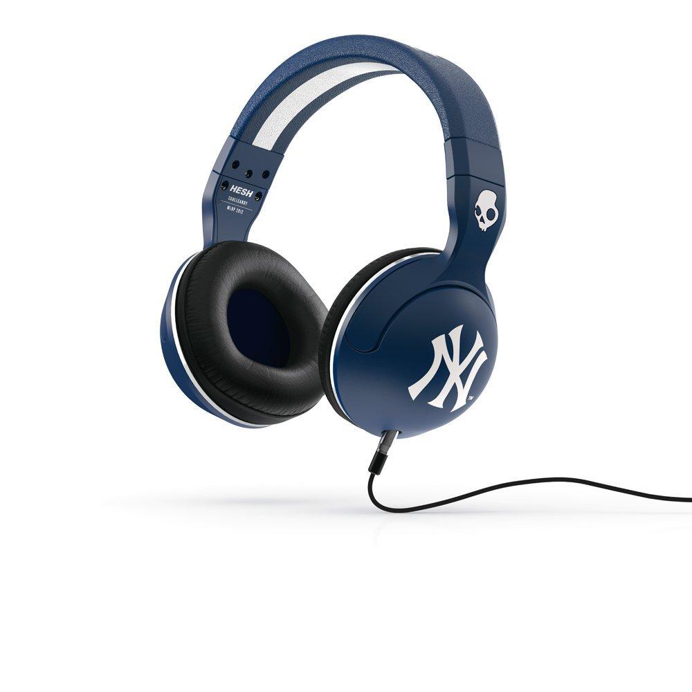 Casti Skullcandy Hesh Blue NY Yankees Mic