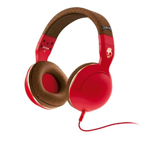 Casti Skullcandy Hesh Red/Brown/Copper