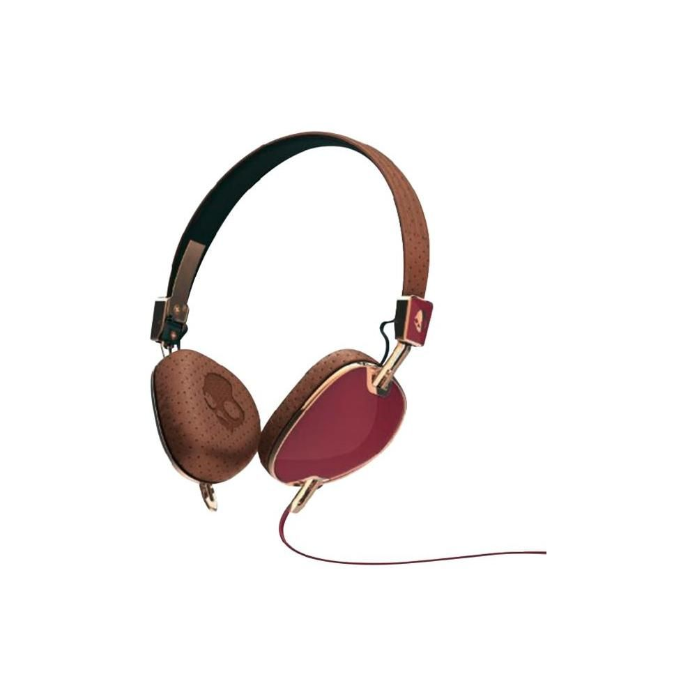 Casti Skullcandy Navigator Maroon/Brown/Copper