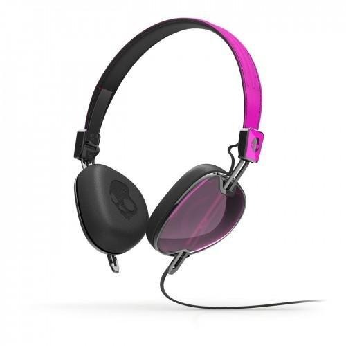 Casti Skullcandy Navigator Hot Pink / Black