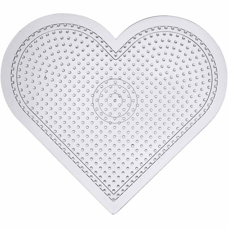 Tabla pt margele 5x5mm,15cm,inima