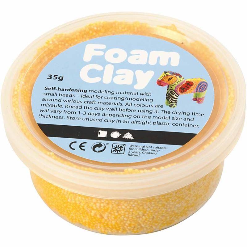 Spuma Clay,35g,galben