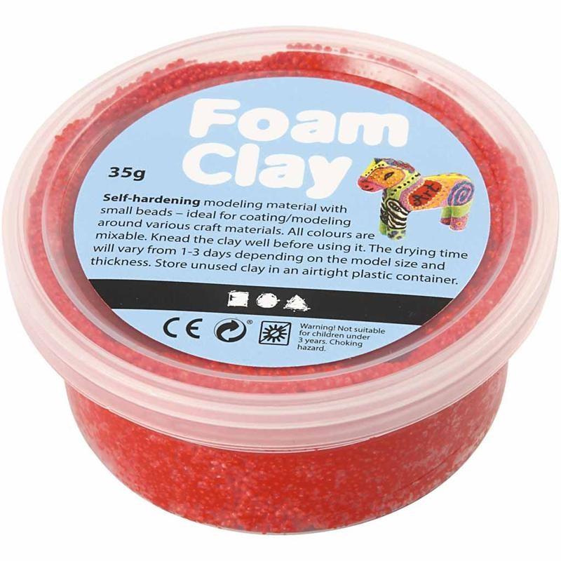 Spuma Clay,35g,rosu