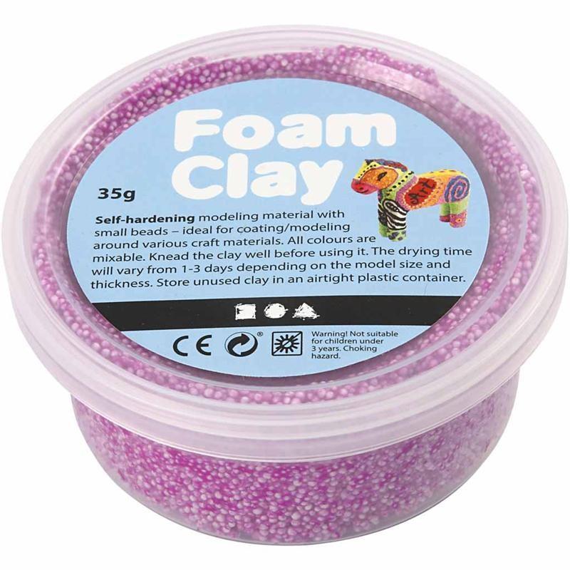 Spuma Clay,35g,violet neon