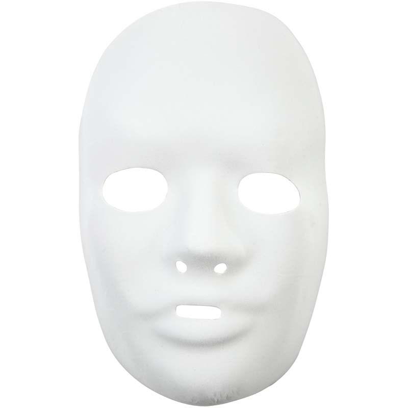 Masca completa,plastic,15.5x24cm