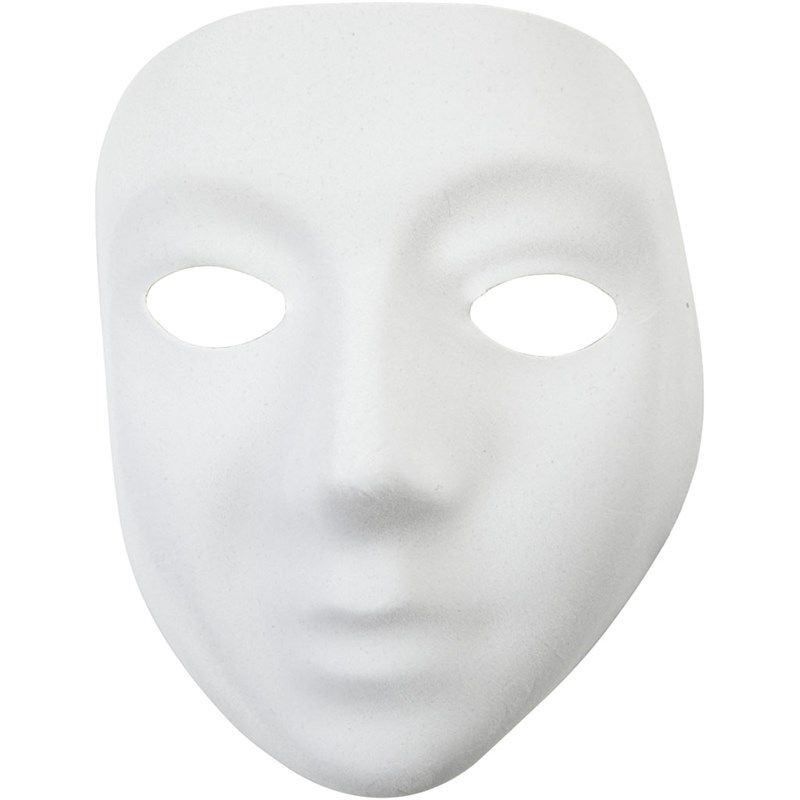 Masca completa,plastic,14x17.5cm