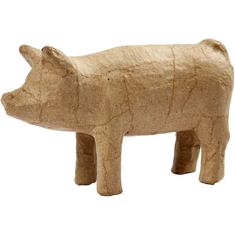 Porc carton,8cm,bucata