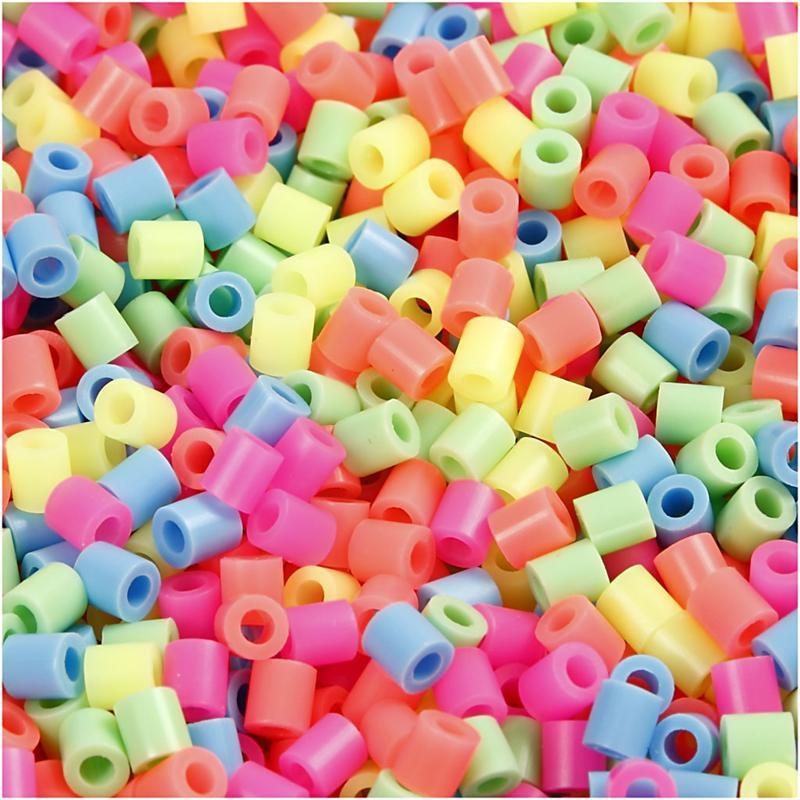 Margele Nabbi,5x5mm,pastel,1100buc/set