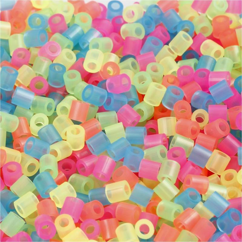 Margele Nabbi,5x5mm,neon,1100buc/set