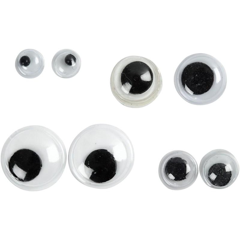 Ochi pupile mobile,4/6/8/10mm,40 b/s