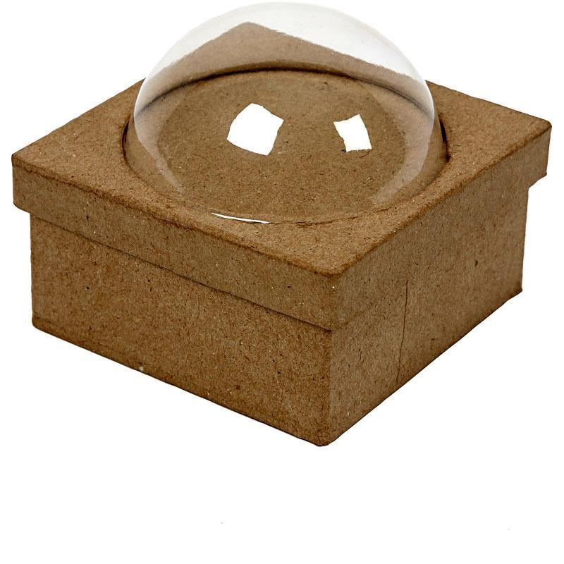 Cutie carton cu bila,10x10cm