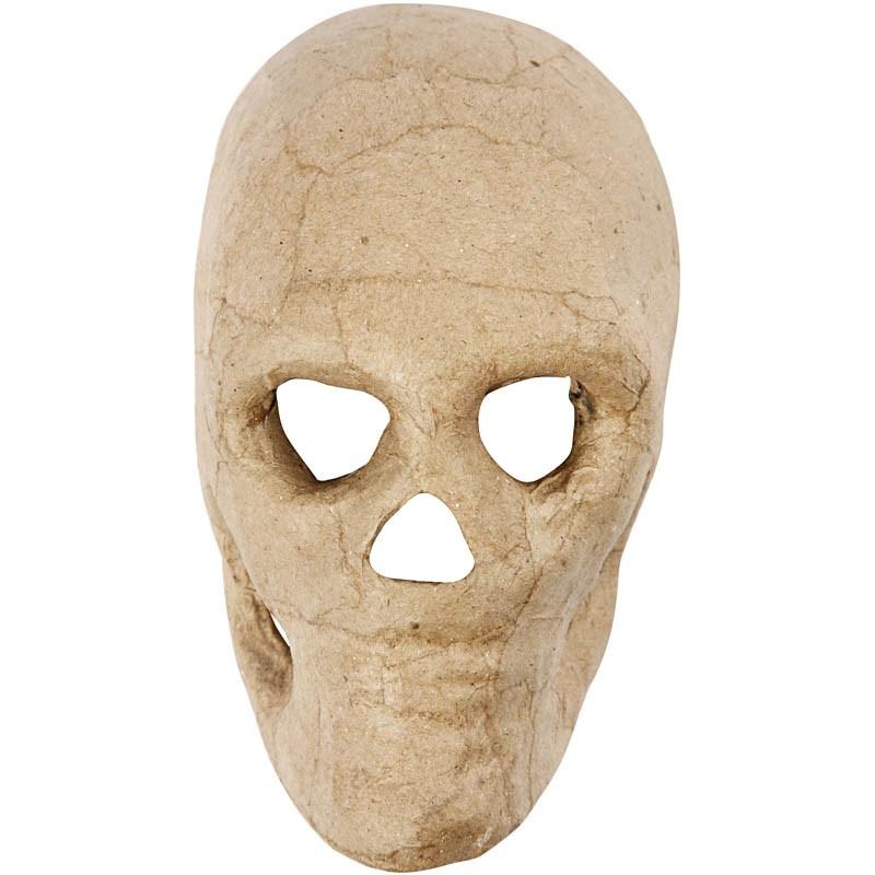 Masca schelet,carton,13cm,bucata