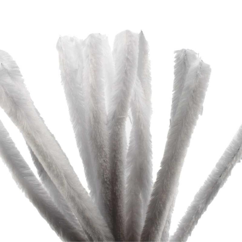 Sarma plusata,30x1.5cm,alb,15 buc