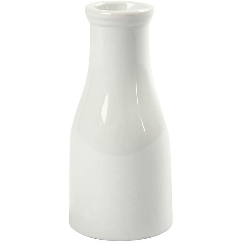 Sticla pt lapte,portelan,13cm