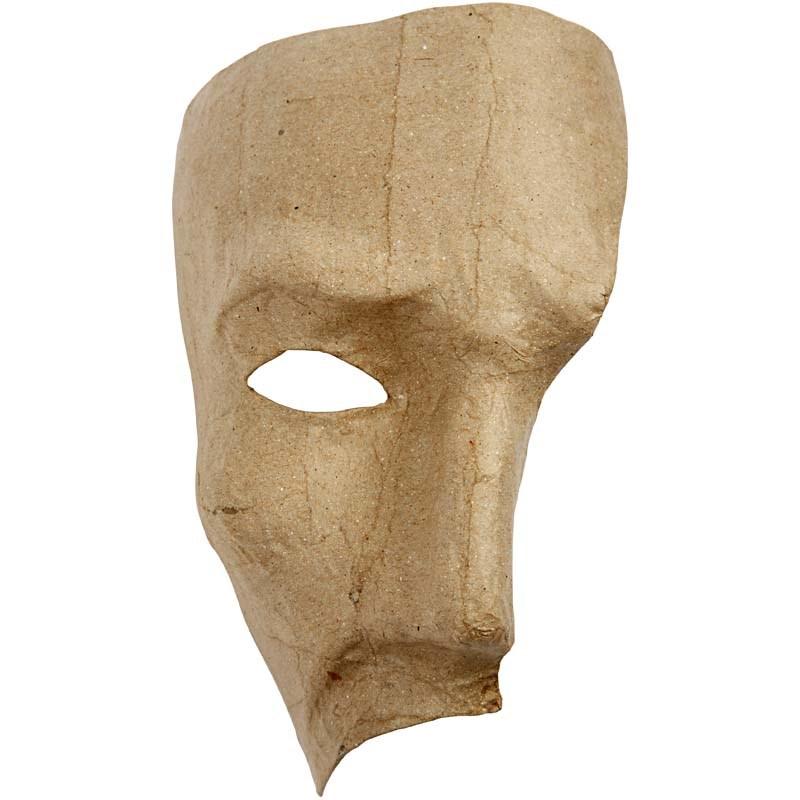 Masca fantoma,carton,18,5cm,bucata
