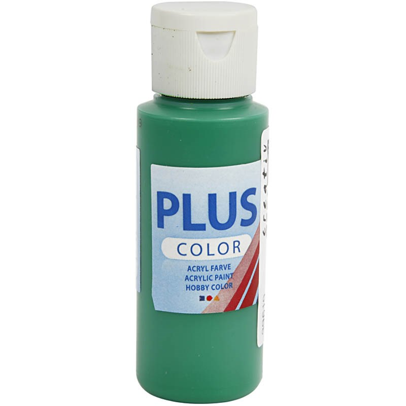 Culori acrilice Plus Color,60ml,brilliant green
