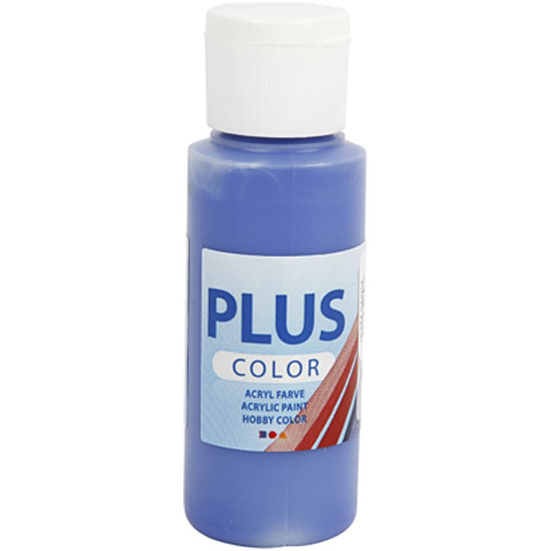 Culori acrilice Plus Color,60ml,ultramarine