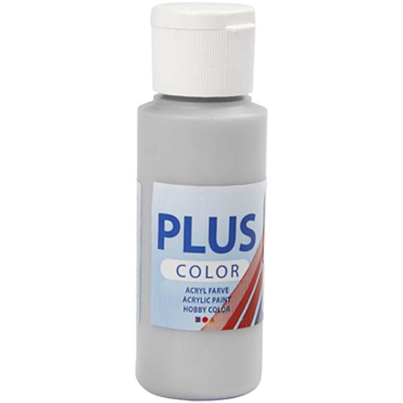 Culori acrilice Plus Color,60ml,argintiu