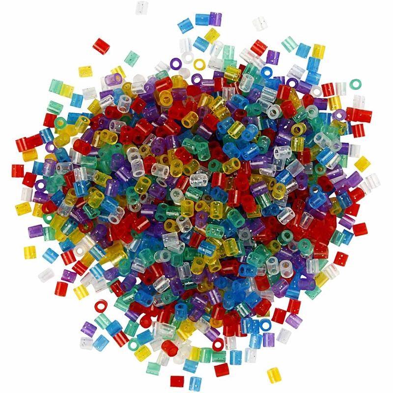 Margele Hama,5x5mm,glitter,1000 buc/set