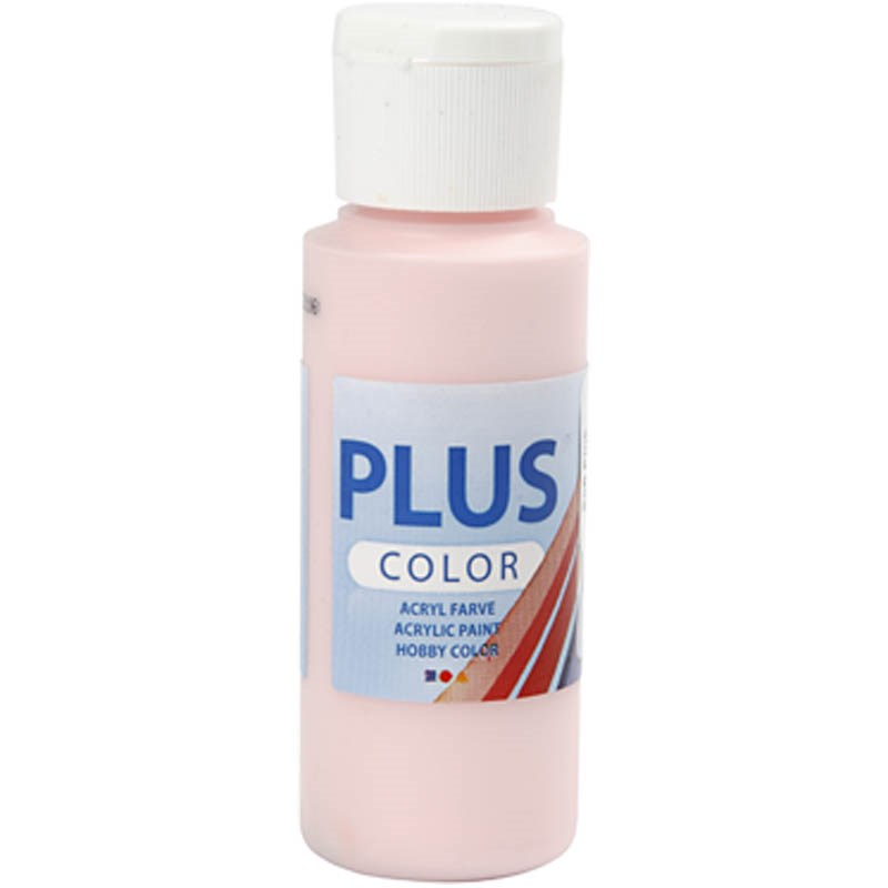 Culori acrilice Plus Color,60ml,soft pink