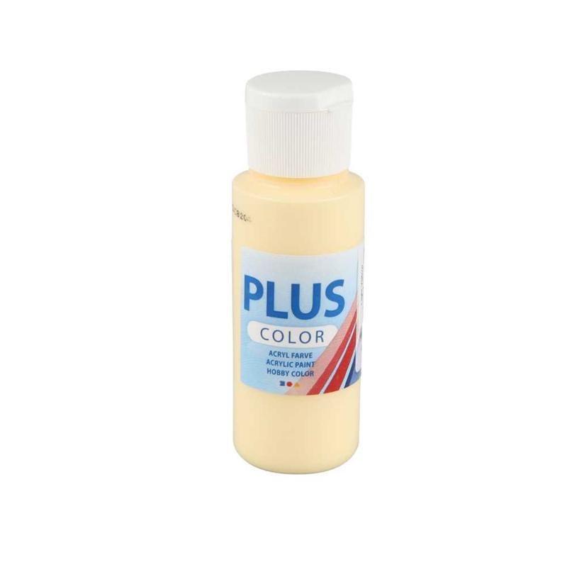 Culori acrilice Plus Color,60ml,light yellow