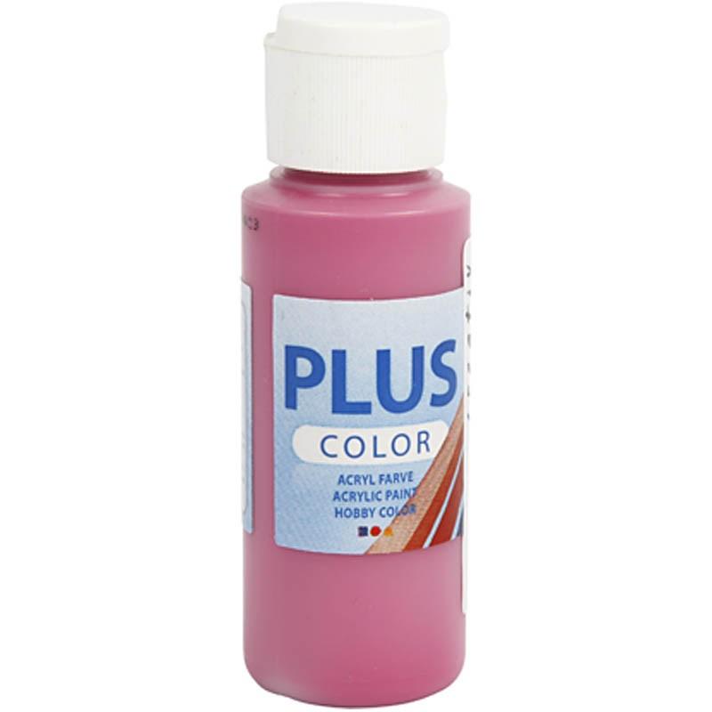 Culori acrilice Plus Color,60ml,royal fuchsia