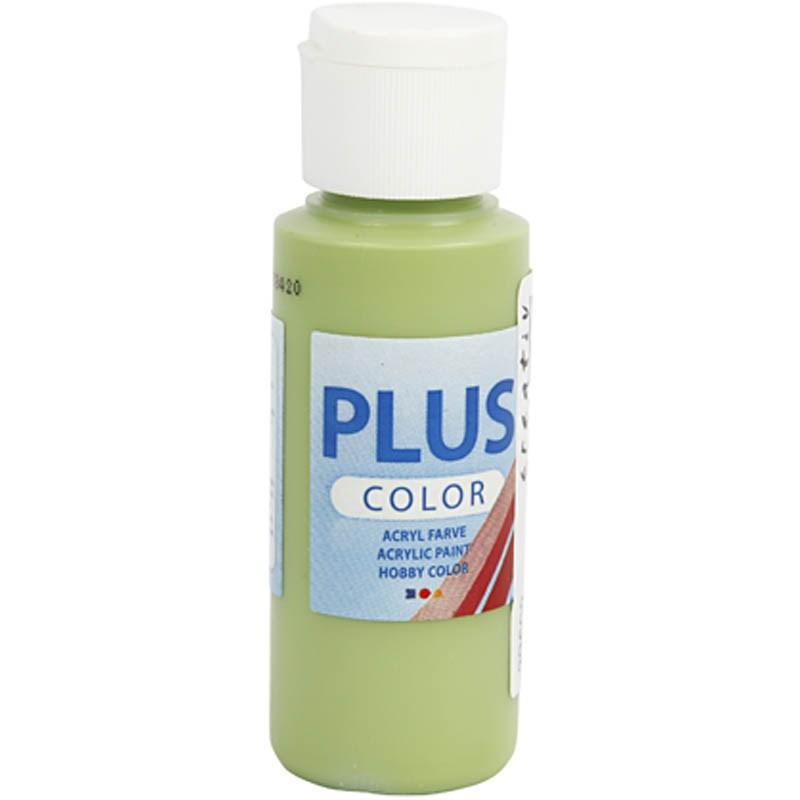 Culori acrilice Plus Color,60ml,leaf green