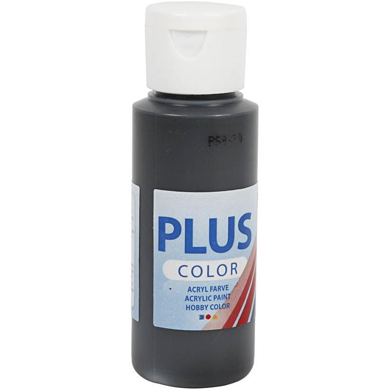 Culori acrilice Plus Color,60ml,negru