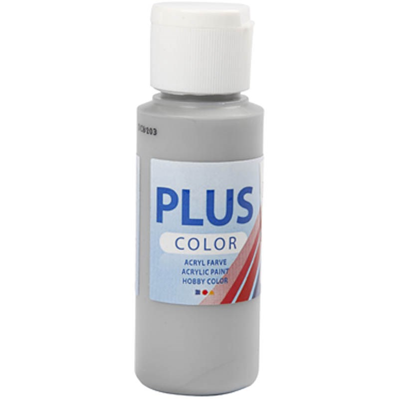 Culori acrilice Plus Color,60ml,rain grey