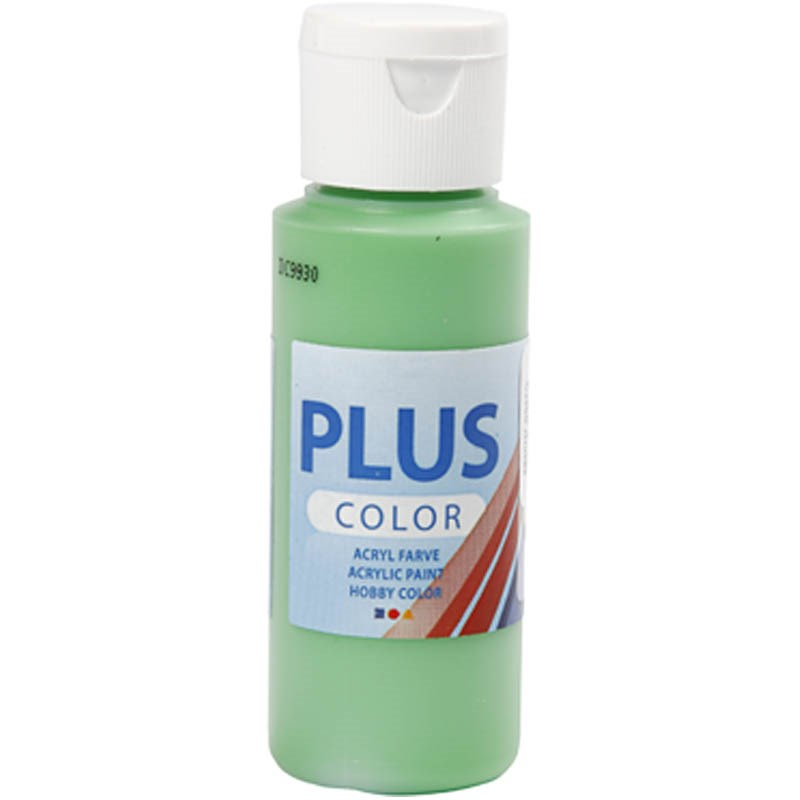 Culori acrilice Plus Color,60ml,bright green